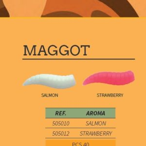 "Gusano Artificial Vorteks ""Maggot"""