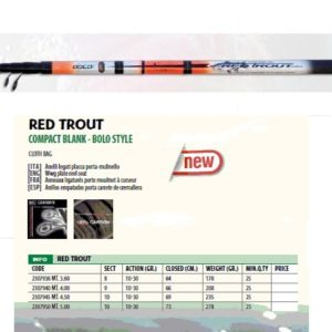 CAÑA RED TROUT 360