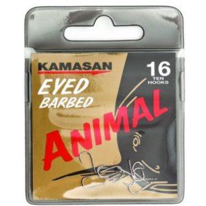 ANZUELO KAMASAN ANIMAL CON ANILLA